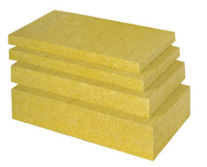 Heat Insulation Exterior Wall Fiberglass Rock Wool Board pictures & photos