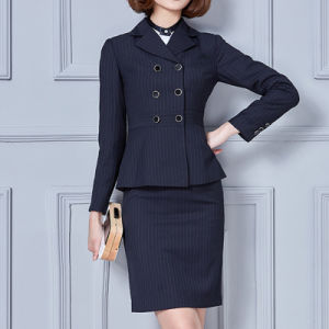 New Arrival Professional Hot Sale Business Women Skirt Suits pictures & photos
