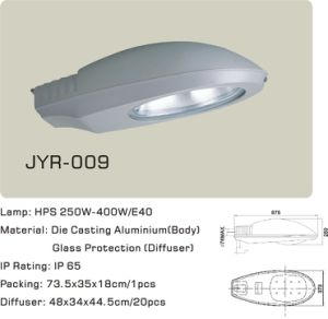 Son250W High Pressure Sodium Lamp, Street Light (JYR-009) pictures & photos