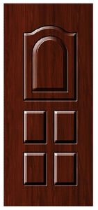 Pressed Design Steel Door pictures & photos