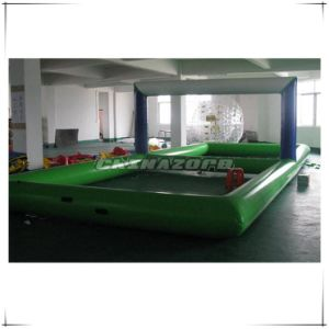 New Made Water Games Inflatable Water Volleyball Court Factory Price