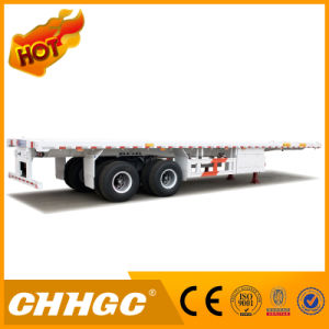 Flatbed Container Semi Trailer with Factory Price pictures & photos