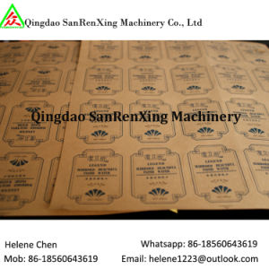 Kraft Paper Hot Melt Adhesive Label/Sticker pictures & photos