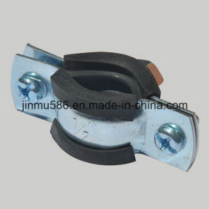 Pipe Clamps with Rubber (1 / 2 ′′) pictures & photos
