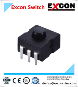 Electronic Tact Switch with Bending for Flashlight Products