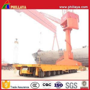 Self-Propelled Heavy Duty Hydraulic Platform Shipyard Transporter pictures & photos