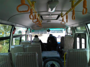 6.6m Double Door Passenger Bus with 26 Seats for Mongolia pictures & photos