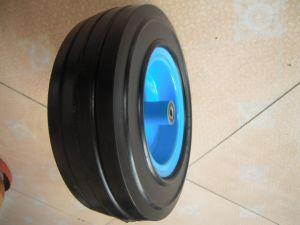 12 Inch Solid Rubber Wheel with High Quality pictures & photos