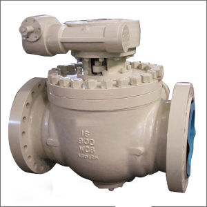1-Piece Body Top Entry Trunnion Ball Valve