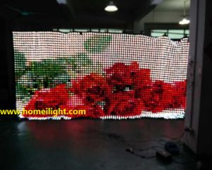 P5cm LED Vision Curtain RGB Video Curtain Displayfexible Stage Backdrop pictures & photos