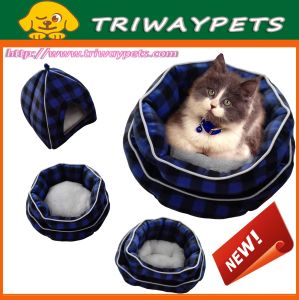 Comfort Dog Cat Pet Bed (WY161003A/B) pictures & photos