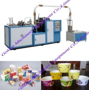 Single PE Coated Paper Bowl Cup Making Forming Machine pictures & photos