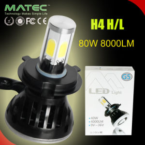 G5 4000lm LED Headlight COB H4 H7 9005 9006 LED Car Light for Auto pictures & photos