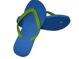 Plain Rubber Flip Flops, PE Slippers pictures & photos