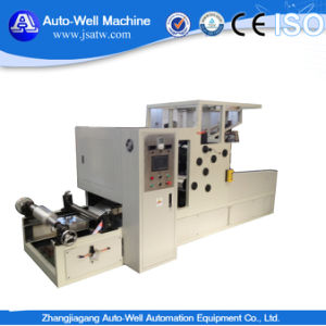 Household Aluminium Foil Roll Rewinding Machine pictures & photos