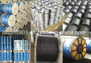 Steel Wire Rope Used in The System of Window Regulator, 8*7+1*19 pictures & photos