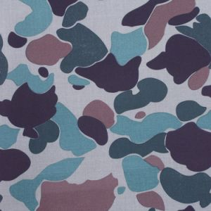 100% Cotton Camouflage Fabric for Military Uniform