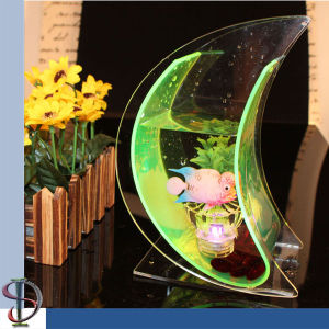 China acrylic fish bowl display stand china acrylic fish for Acrylic fish bowl