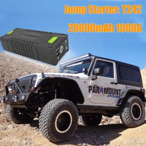 Portable Emergency Car Battery Jump Starter for Charing/Lighting pictures & photos