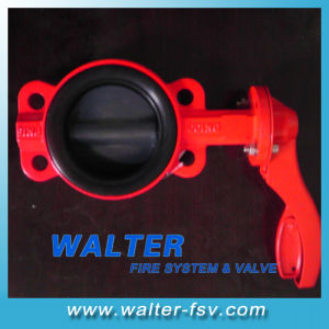 Handlever Butterfly Valve for Firefighting pictures & photos