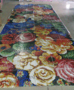 Artistic Pattern Mosaic Made of Glass Tile (HMP868) pictures & photos