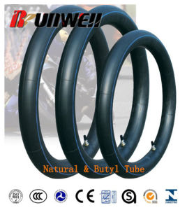 Motorcycle Natural Rubber Tubes 3.25X18 3.50-18 pictures & photos