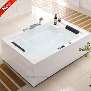 Portable Classic Massage Whirlpool Acrylic Jetted The Bathtub Shower (SF5A005) pictures & photos