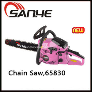 Pressional Pink Gasoline 58cc Chain Saw with CE/GS/EMC