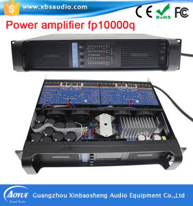 High Quality 4channels Blue Board Powersoft Amplifier Fp10000q