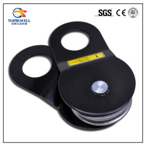 Black Color Hoist Winch Pulley Snatch Block for Wire Rope pictures & photos