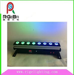 Wireless Battery 8LEDs 10W LED Wall Washing Bar pictures & photos