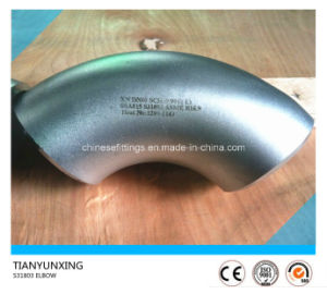 ASME B16.9 Seamless Ssa815 S31803 Stainless Steel Elbow pictures & photos
