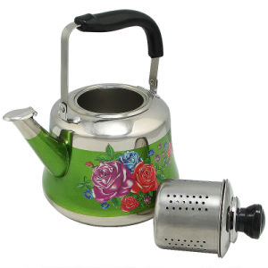 Stainless Steel Electric Kettle with Thermometer pictures & photos