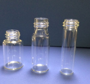 5ml Clear Tubular Mini Glass Vials for Pill Packing