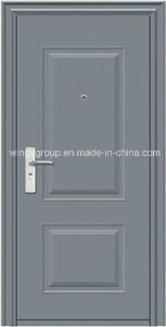 Ce for Europ Market Good Quality Security Steel Door (W-S-01) pictures & photos