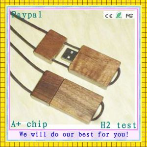 Full Capacity High Quality Wooden USB Flash Memory Drive pictures & photos