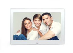 10 Inch Aluminium Case Digital Photo Frame with High Resolution pictures & photos