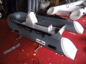 3.6m 11.8FT Rib360b Recsue Boat with Hypalon Fiberglass Hull Rigid Inflatable Boat Hot Sale pictures & photos