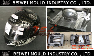 Injection Plastic Full Face Motorcycle Helmet Mould pictures & photos