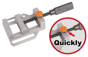 (JRJ024) Quick Release Drill Press Vice, Quick Clamp