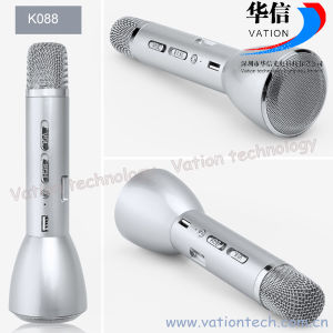 K088 Portable Karaoke Microphone Player, Bluetooth Mini Microphone pictures & photos