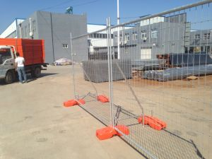 Temporary Fence Block for Sale pictures & photos