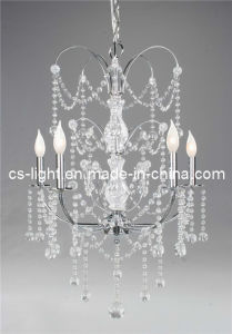 White Modern Glass Crystal Chandelier Pendant Lamps