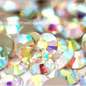 Wholesale Nail Art Accessories Flatback Non Hotfix Rhinestone (FB-ss12 crystal ab) pictures & photos