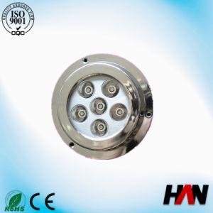 18W Full Stainless Steel IP68 LED Underwater Boat Light