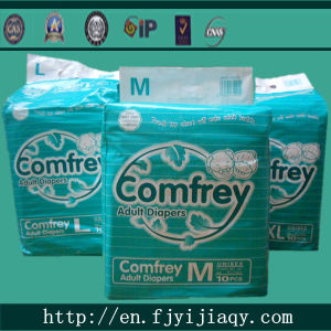Disposable Cheap Adult Diapers with Print pictures & photos