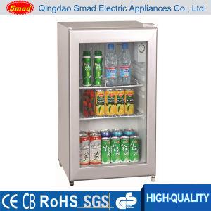 70L CE/SAA/RoHS/SAA Glass Door Mini Refrigerator pictures & photos