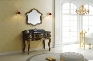 Hand Drawing Gold Classical Cabinet