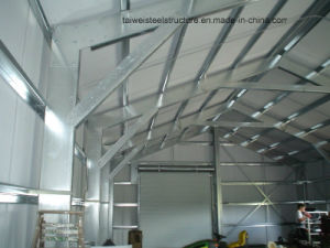 Light Steel Structure Warehouse with 1.5 Meter Brick Wall pictures & photos