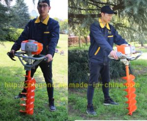 52cc/68cc/71cc Gasoline Earth Auger Ground Drill for Sale pictures & photos